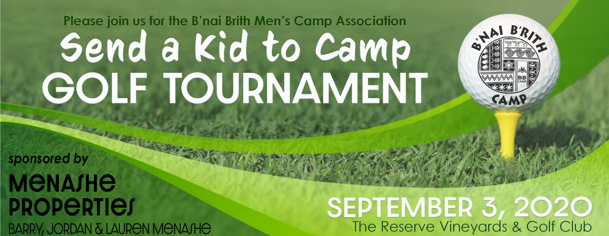 Send a Kid to Camp Golf Tournament
